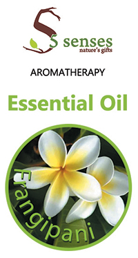 5 senses Spa Products - Frangipani Essential Oil-20ml