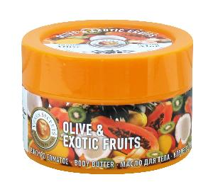 Olive Oil Products - Organic Olive Oil and Exotic Fruits Body Butter