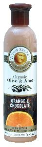 Organic Olive Orange and Chocolate Body Lotion 250ml