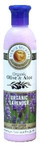 Olive Oil Products - Organic Olive and Lavender Body Lotion 250ml