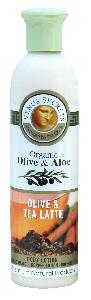 Olive Oil Products - Organic Olive and Tea Latte Body Lotion 250ml