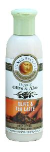 Olive Oil Products - Organic Olive and Tea Latte Body Lotion 100ml