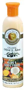 Olive Oil Products - Organic Olive and Exotic Fruits Body Lotion 250ml