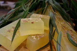 Natural Soaps - Eucalyptus Soap-whole bar-11 pcs (1kg)