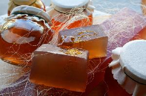 Natural Soaps - Honey Soap-whole bar-11 pcs (1kg)