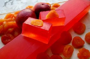 Natural Soaps - Peach Soap-whole bar-11 pcs (1kg)