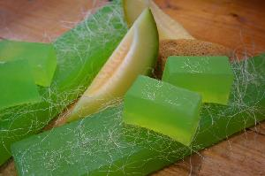 Natural Soaps - Melon Soap-whole bar-11 pcs (1kg)