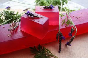 Natural Soaps - Lavender Soap-whole bar-11 pcs (1kg)