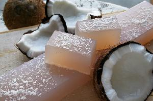 Natural Soaps - Coconut Soap-whole bar-11 pcs (1kg)