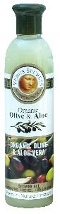 Olive Oil Products - Organic Olive and Aloe Vera Shower Gel 250ml