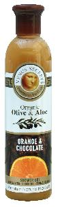 Olive Oil Products - Organic Olive Orange and Chocolate Shower Gel  250ml