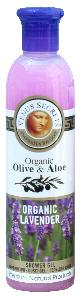 Olive Oil Products - Organic Olive and Lavender Shower Gel 250ml