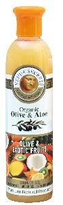 Olive Oil Products - Organic Olive and Exotic Fruits Shower Gel 100ml