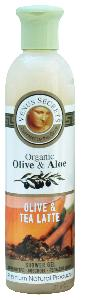 Olive Oil Products - Organic Olive and Tea Latte Shower Gel 100ml
