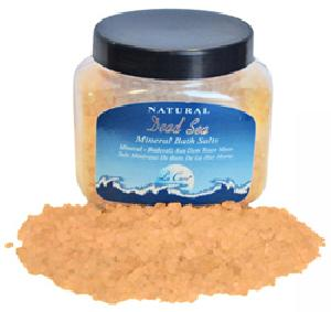Peach Bath Salt jar 500gr