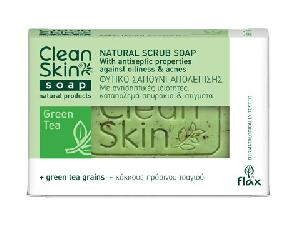 Olive Oil Products - Green Tea Scrub Soap
