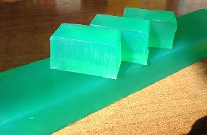 Natural Soaps - Aloe Vera Soap (New)-whole bar-11 pcs (1kg)