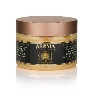 AROMA Dead Sea - Honey & Egg Yolk & Olive Oil Hair Mask