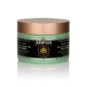 AROMA Dead Sea - Honey And Avocado Oil  Hair Mask