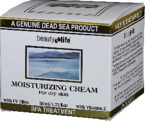 Beauty Life Dead Sea - Moisturizer Face cream for Dry skin Mineral