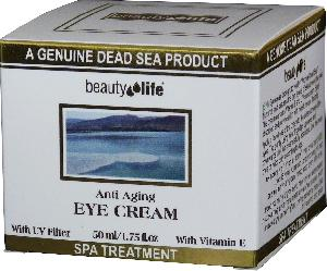Beauty Life Dead Sea - Anti aging eye cream for all skin types Mineral
