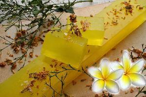 Natural Soaps - Frangipani-whole bar-11 pcs (1kg)