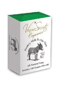 Natural Soap with Donkey Milk & Aloe Vera 150 gr