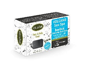 Kalliston Cosmetics - Exfoliation Black Soap with volcanic sand extract 110gr