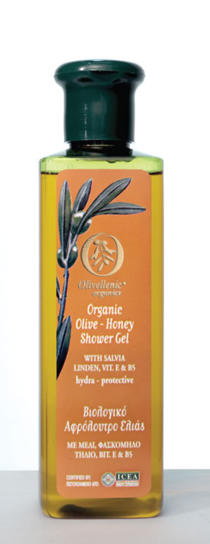 Olive Oil Products - Honey Olive Shower Gel