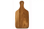 Olive Wood Utensils - Wood cutting board in racket shape thin 29 cm