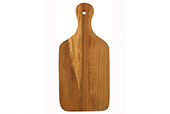 Olive Wood Utensils - Wood cutting board in racket shape thin 26 cm
